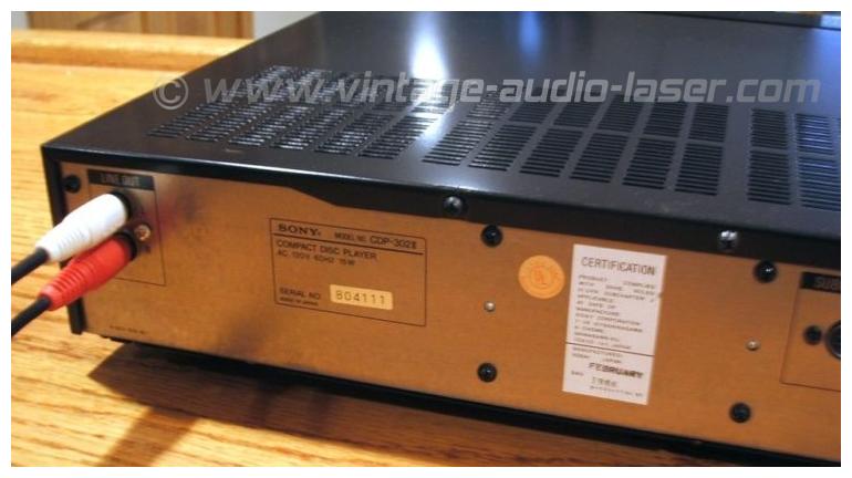 302 2 >> Sony CDP-302 II