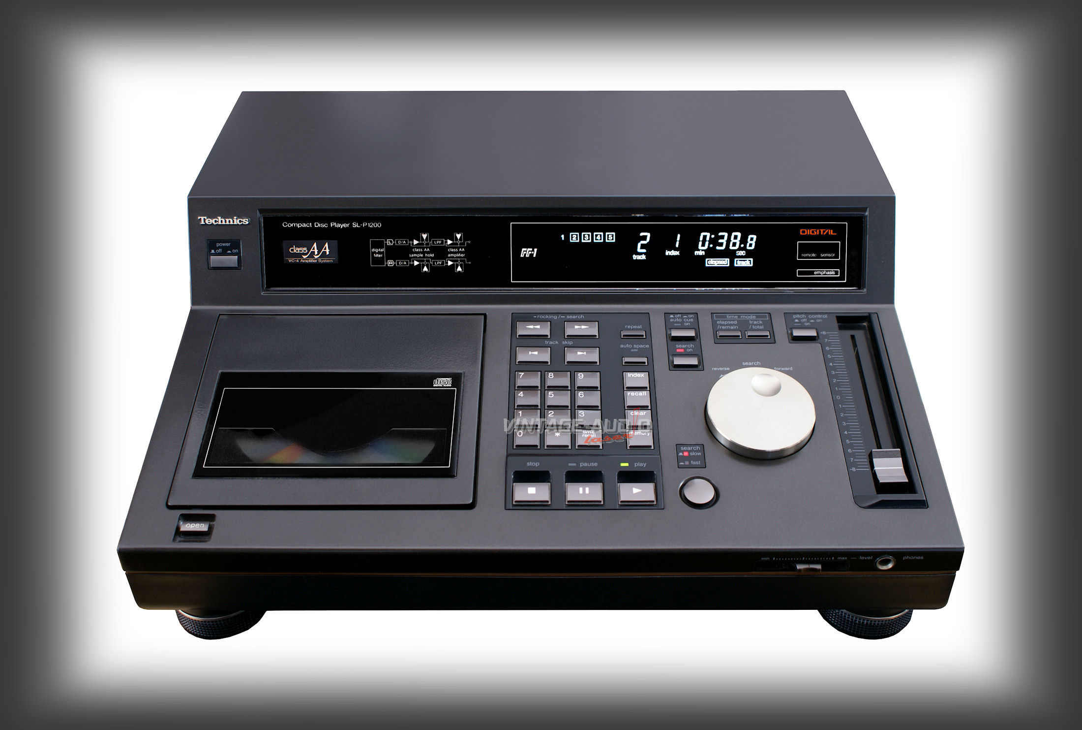 Pioneer CDJ 500II Limited Professional CD Player vs. Technics Professional CD Player SL-P1200 965_vintage-audio-laser_technics_slp1200